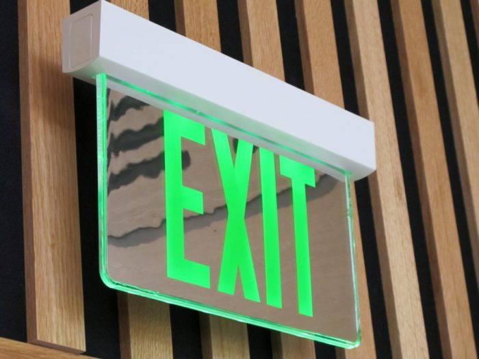 Saving A Little More Energy With Exit Signs