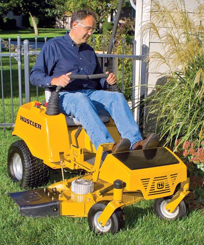 Congratulate, Hustler lawn mower battery