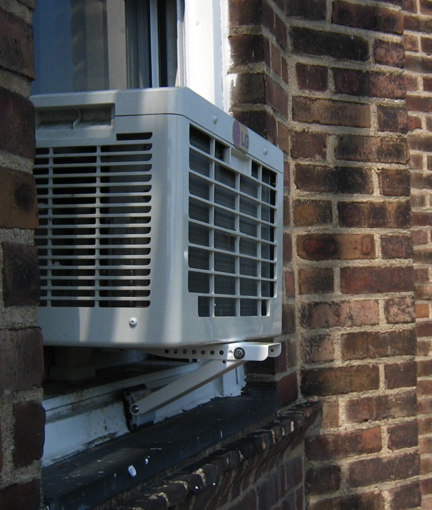 Window Mounted Air Conditioners Save Energy