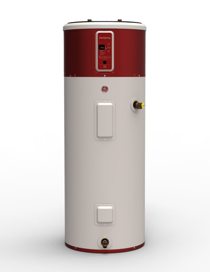 heat pump water heaters come of age greenbuildingadvisor geospring heat pump water heater from ge has a relatively small tank its capacity is only 50 gallons image credit ge