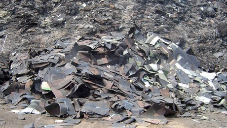 Job Site Recycling Asphalt Roofing Shingles