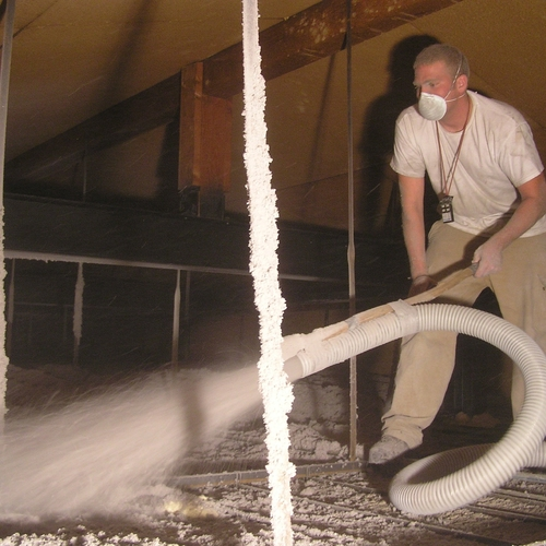 Borrowing a cellulose blower from a big box store greenbuildingadvisor how to install cellulose insulation solutioingenieria Choice Image