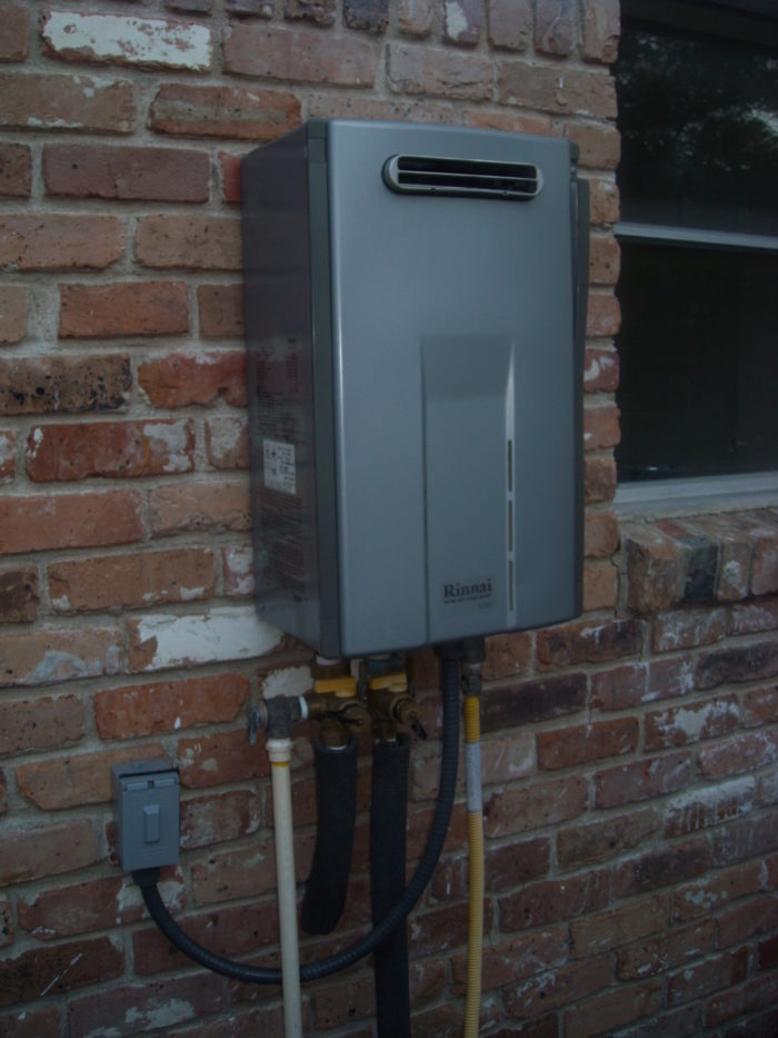 how to sell green upgrades: tankless water heaters