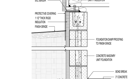 Foam Under Footings - GreenBuildingAdvisor