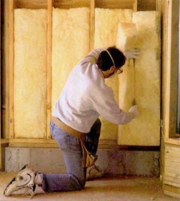 Ordinaire ... Has Ordered The Removal Of The Kraft Paper Facing On Fiberglass Batt  Insulation Before It Can Be Installed In The Exterior Walls Of A Bathroom.