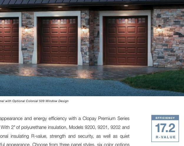 Energy Efficient Garage Doors Greenbuildingadvisor