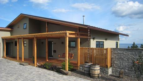 Passive solar heating greenbuildingadvisor - Icon exterior building solutions ...