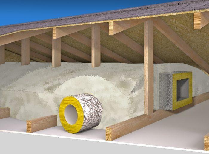 Burying Ducts in Attic Insulation - GreenBuildingAdvisor