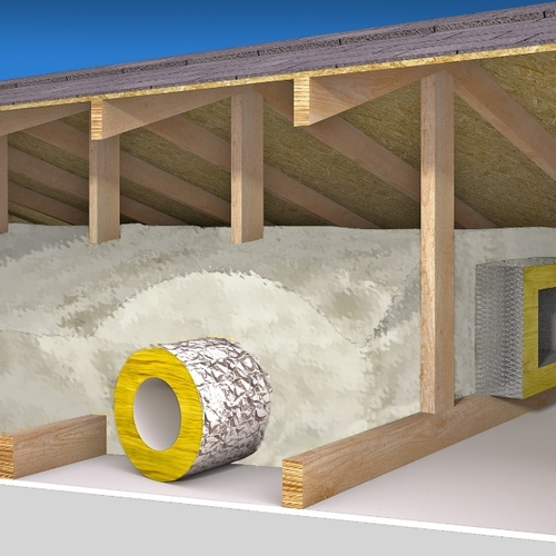 Dealing With Ductwork in an Unconditioned Attic