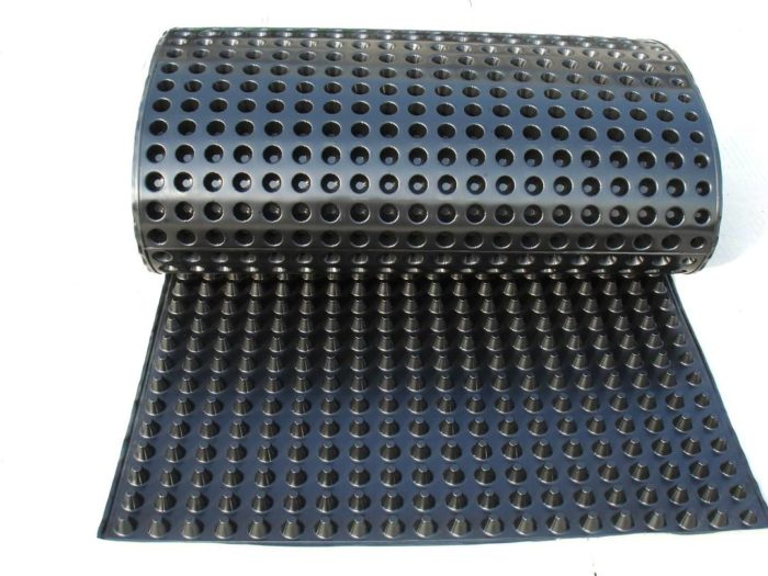 using a dimple mat to keep a basement wall dry greenbuildingadvisor rh greenbuildingadvisor com