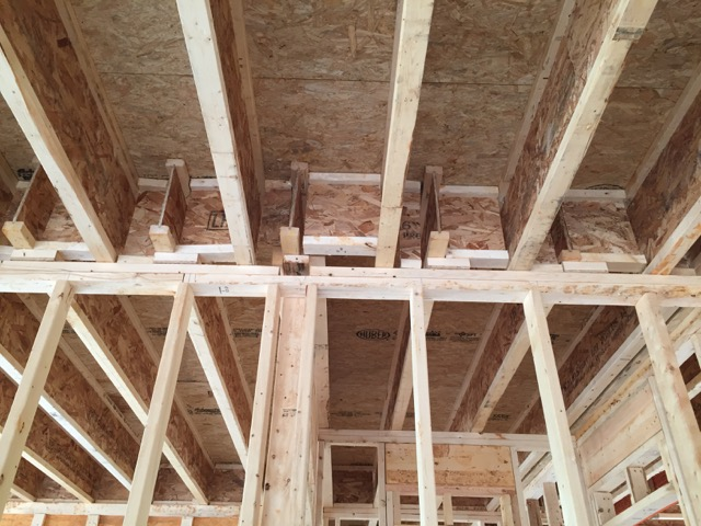 Air Sealing The Ceiling Joists In An Attached Garage