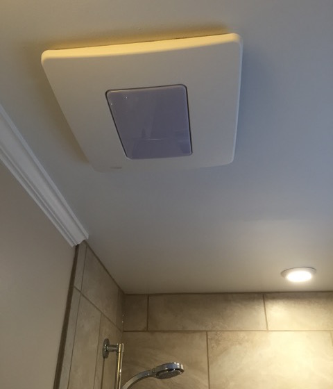 Installing An Exhaust Fan During A Bathroom Remodel - Bathroom ceiling fan installation