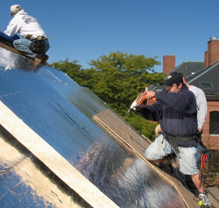 How To Install Rigid Foam On Top Of Roof Sheathing Greenbuildingadvisor