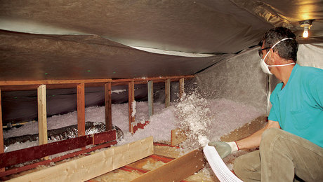 Attic Insulation Upgrade Greenbuildingadvisor
