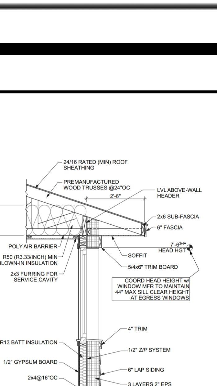 Header hangers vs  jack studs: Thermal bridging