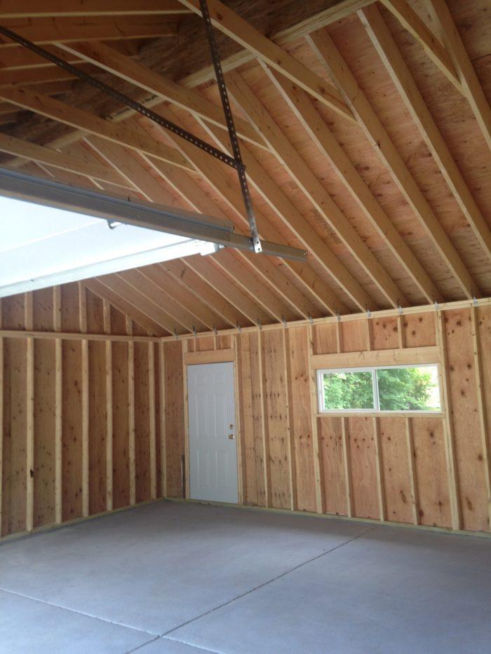 Detached Garage Insulation Greenbuildingadvisor