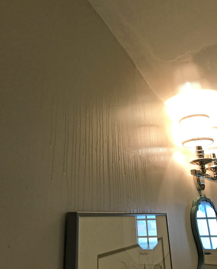 Stopping Moisture / Condensation Build Up On Bathroom