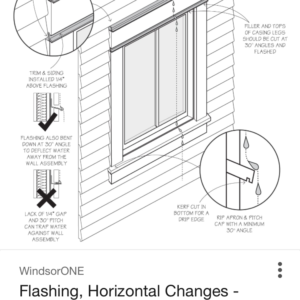 How to flash window trim below window - GreenBuildingAdvisor