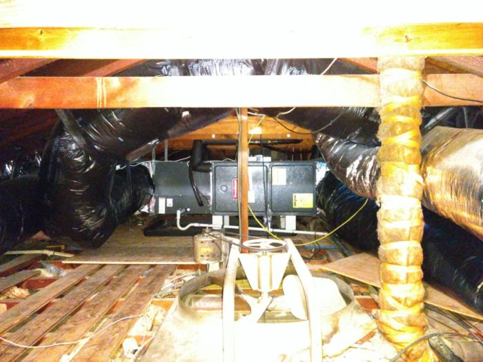 How To Deal With Ductwork That Is Installed In An