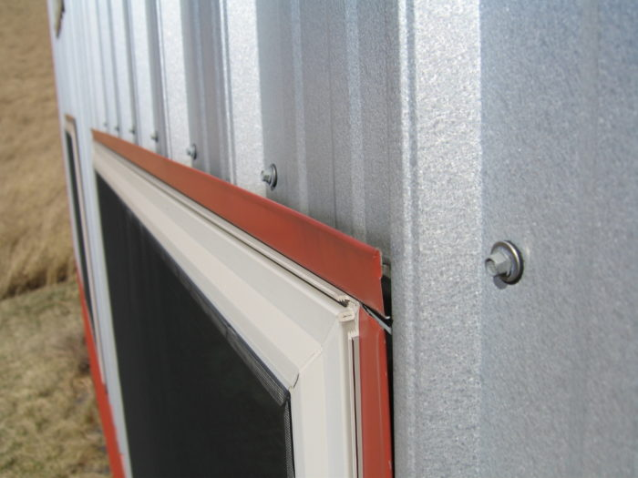 Metal Siding Window Head Flashing Detail