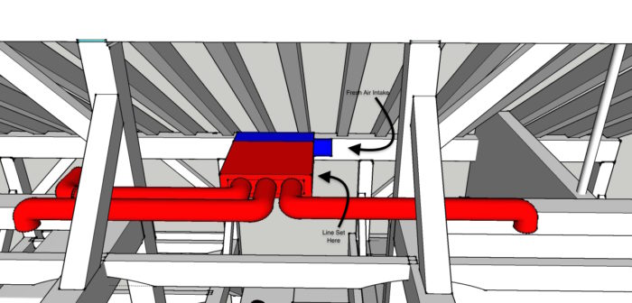 Integrating Ducted Mini Split With Hrv Greenbuildingadvisor