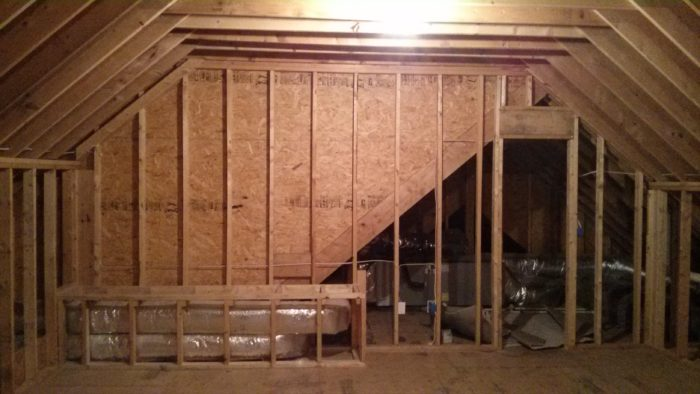 Finishing The Attic Space Best Insulation Plan