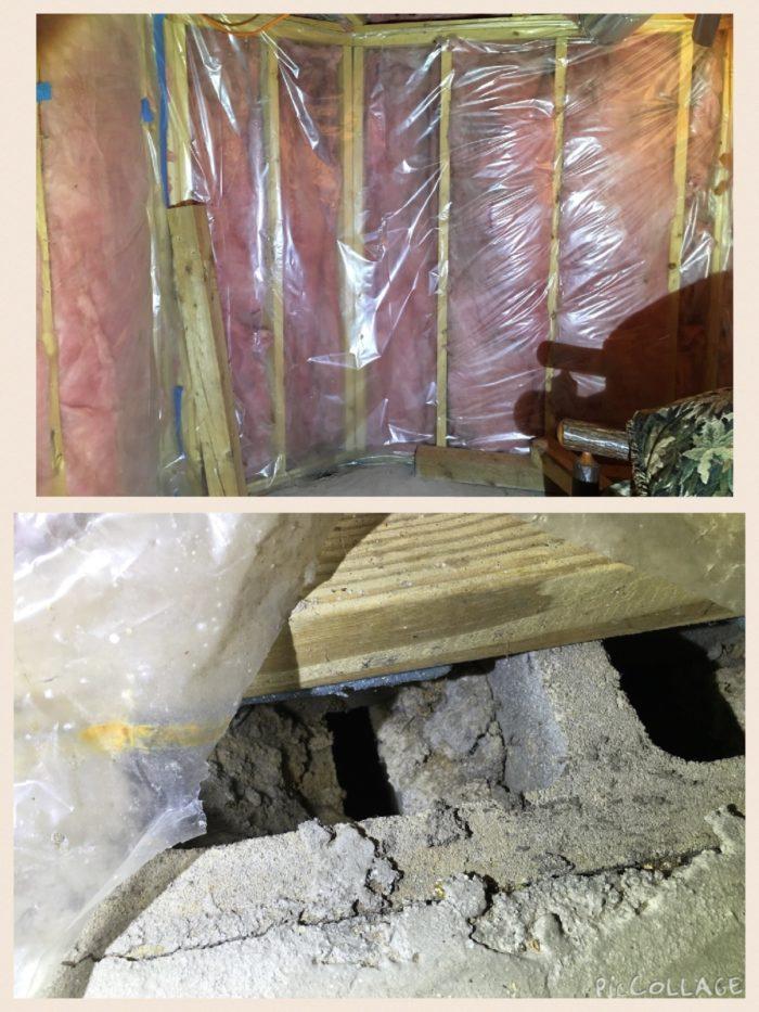 Brick Veneer Air Gap Vents Into Rim Joist In Crawlspace