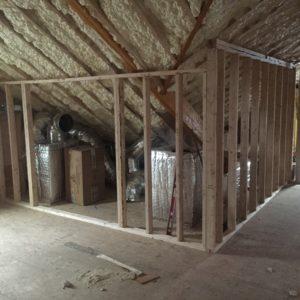 Open Cell Spray Foam On Roof Deck Amp Vapor Retarding Primer
