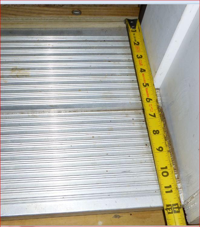 Exterior door thresholds for thick walls - Exterior door threshold extension ...