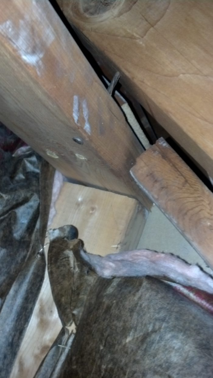 Adding Insulation While Roof Being Replaced In A Cape Cod