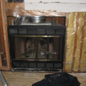 How To Insulate Prefab Chimney Interior Wall