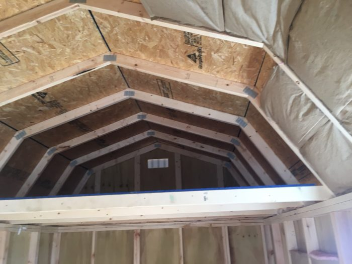 Cathedral Ceiling Insulation For A Summer Cabin