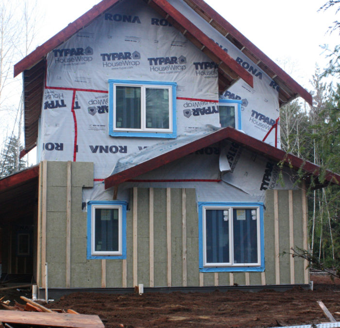 Installing roxul mineral wool on exterior walls - Exterior house insulation under siding ...