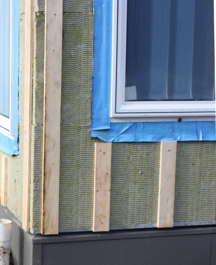 Installing Roxul Mineral Wool On Exterior Walls
