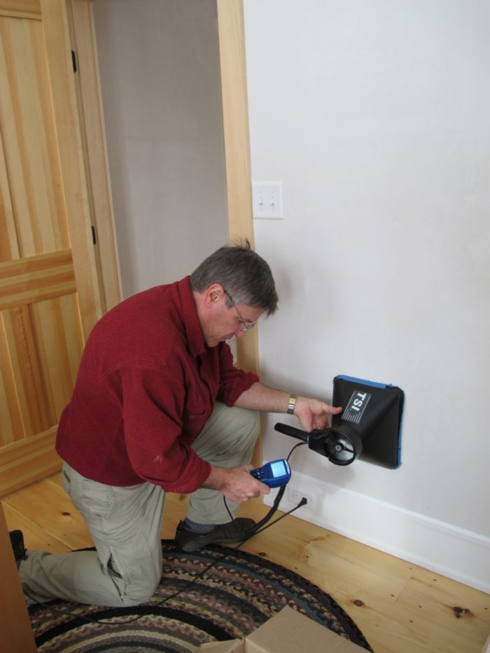 Commissioning Our Heat Recovery Ventilator