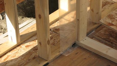Two Views Of Double Stud Walls Greenbuildingadvisor