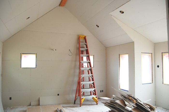 How are mini-splits installed in new construction