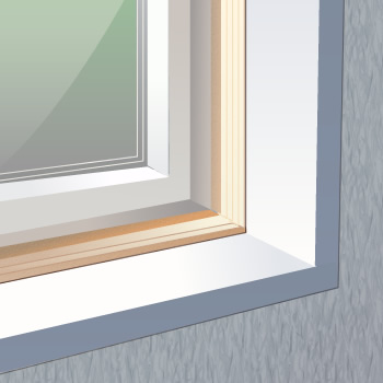 Interior Trim For Outie Windows In Thick Wall Construction
