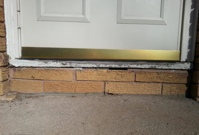How To Flash A Door Sill Greenbuildingadvisor