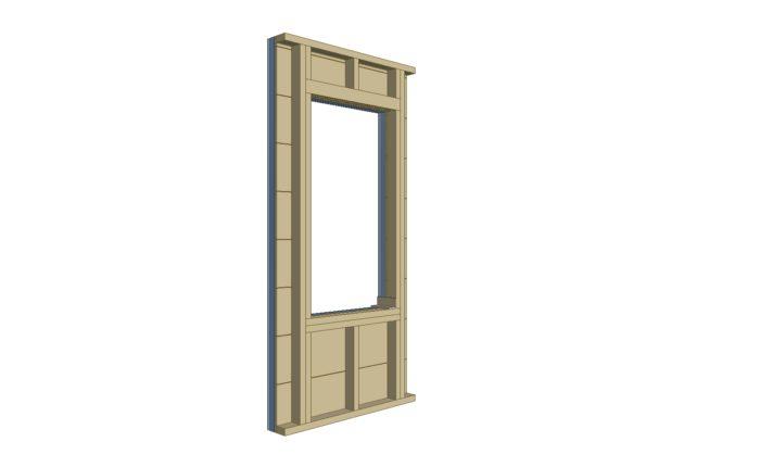 Does exterior rigid foam require plywood box around window framing ...
