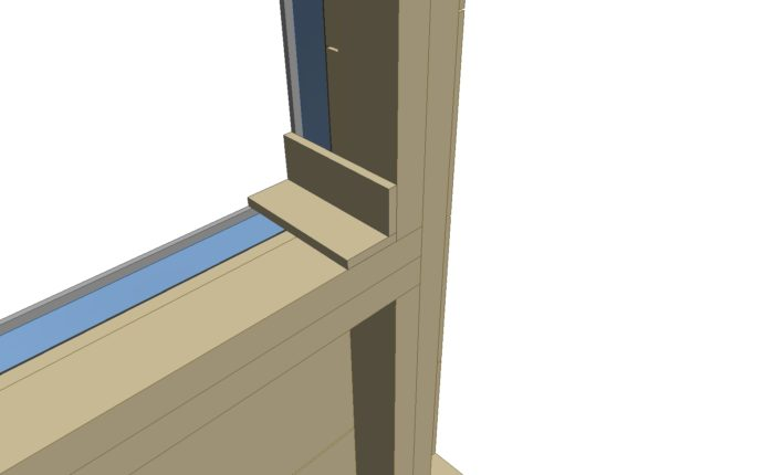 Does exterior rigid foam require plywood box around window framing ...