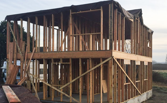 Saving Sustainably  Framing The Second Floor