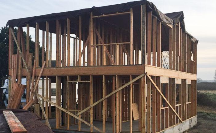 Saving Sustainably Framing The Second Floor Greenbuildingadvisor