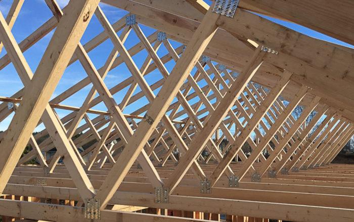Saving Sustainably Framing The Roof Greenbuildingadvisor