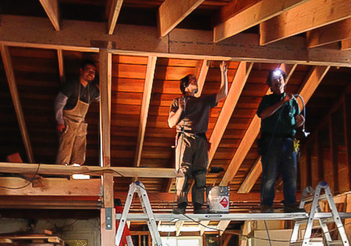 Frugal Happy Vaulting The Ceiling Greenbuildingadvisor