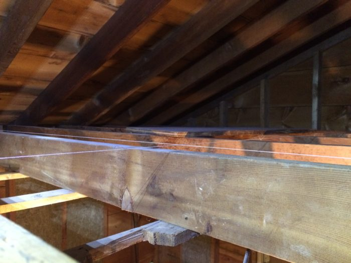 Sagging Ceiling Joists Www Gradschoolfairs Com