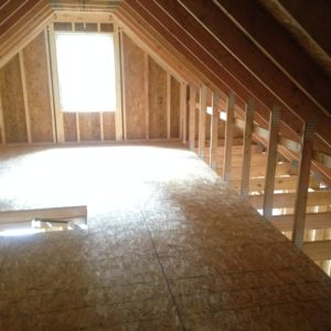Insulating New Cabin Build At The Attic Roof Line Amp Attic