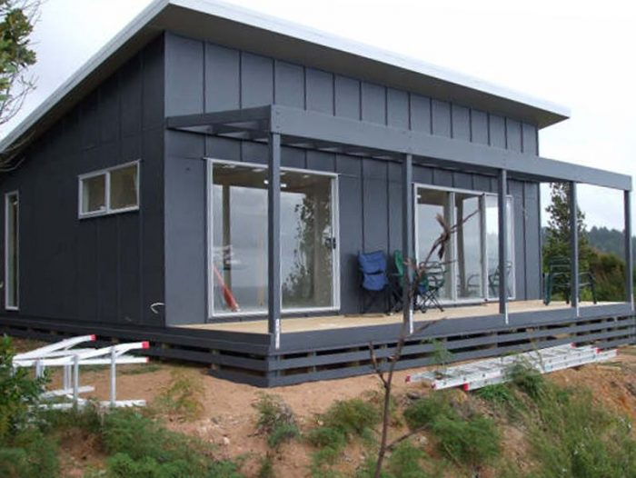 Shed Monolith Style Roof Is Cheap To Build And Energy