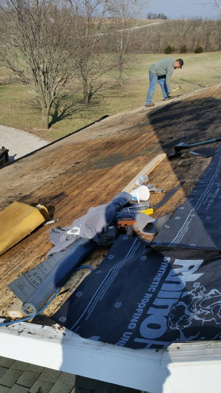 Wet Roof Sheathing Above Open Cell Spray Foam
