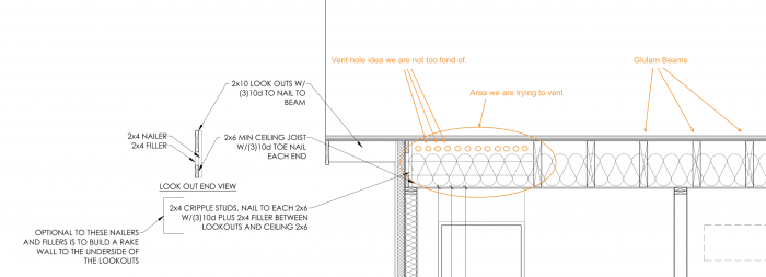 Venting outriggers (a k a  lookouts) - GreenBuildingAdvisor